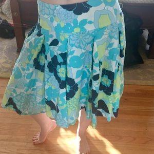 NY Company floral full skirt